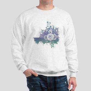 Rose Tshirt Sweatshirt