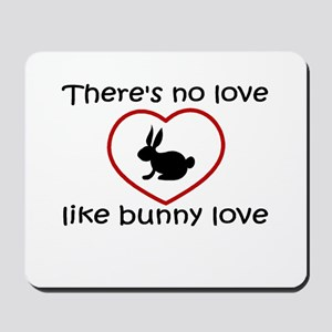Bunny Love Mousepad
