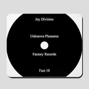 Joy Division Unknown Pleasures Mousepad