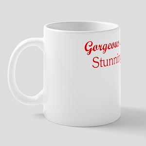 TEXT GORGEOUS with logo Mug