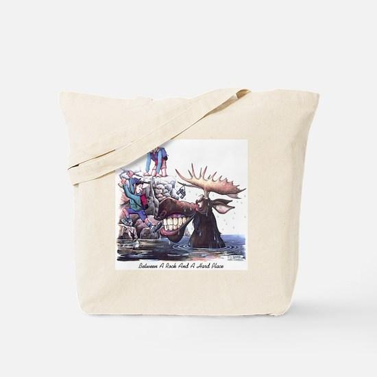 BetweenARockandAHardPLace Tote Bag