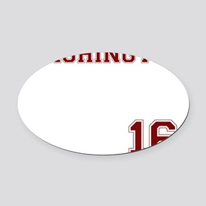 2.8 Oval Car Magnet
