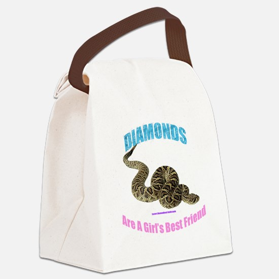 easterndiamondback Canvas Lunch Bag