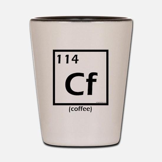 element114coffee Shot Glass