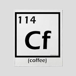 element114coffee Throw Blanket