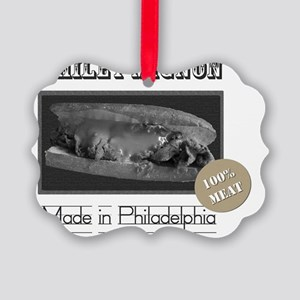 2-cheesesteakT Picture Ornament