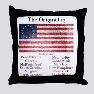 Original 13 Throw Pillow