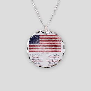 Original 13 Necklace Circle Charm