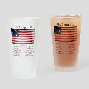 Original 13 Drinking Glass