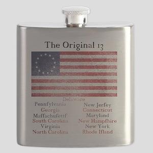 Original 13 Flask