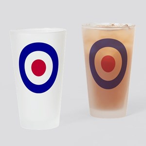 10x10-RAF_roundel Drinking Glass