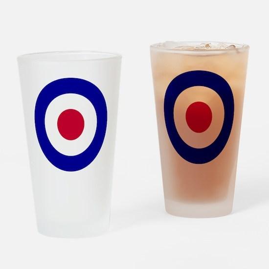 10x10-RAF_roundel Drinking Glass