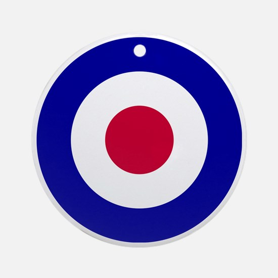 10x10-RAF_roundel Round Ornament