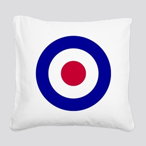 10x10-RAF_roundel Square Canvas Pillow