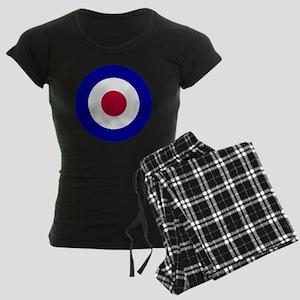 10x10-RAF_roundel Women's Dark Pajamas