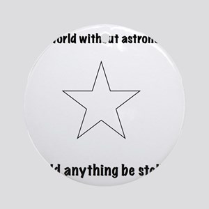 astronomy Round Ornament
