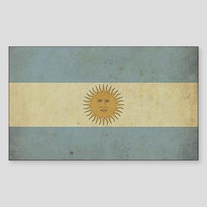 Vintageargentina_fl2 Sticker (Rectangle)