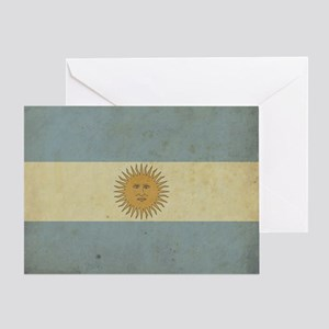 Vintageargentina_fl2 Greeting Card