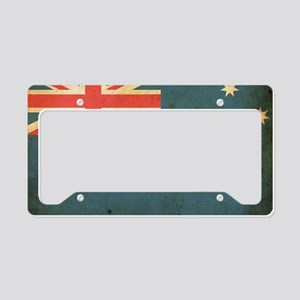 vintageAustralia5 License Plate Holder