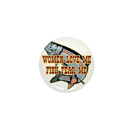 blk_Women_Love_Fish_Fear_02 Mini Button
