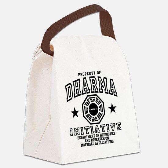 Prop Dharma BBtn Canvas Lunch Bag