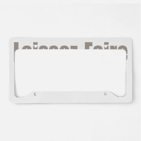 transparent License Plate Holder