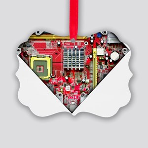 Super_Computer Picture Ornament