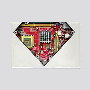 Super_Computer Rectangle Magnet
