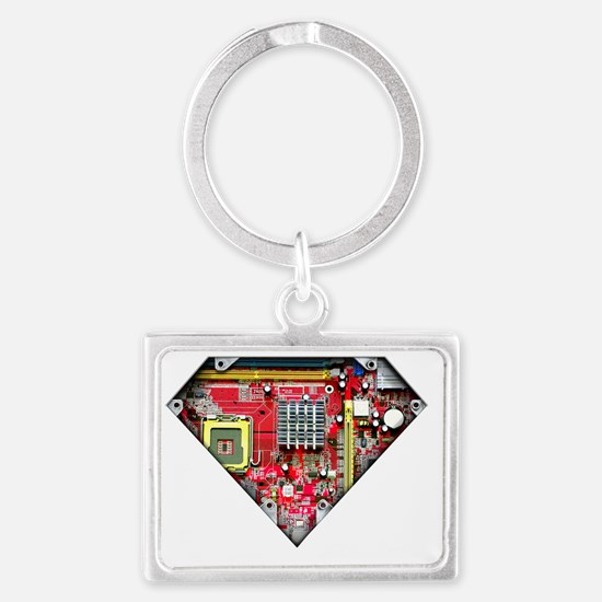 Super_Computer Landscape Keychain