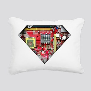 Super_Computer Rectangular Canvas Pillow