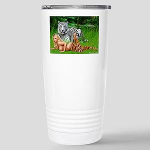 tigergirl Stainless Steel Travel Mug