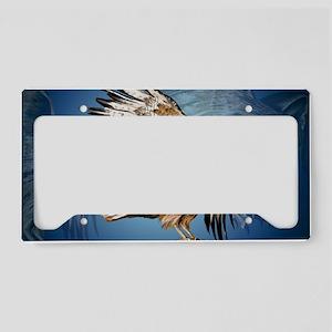 Flying Haw-Yardsign License Plate Holder