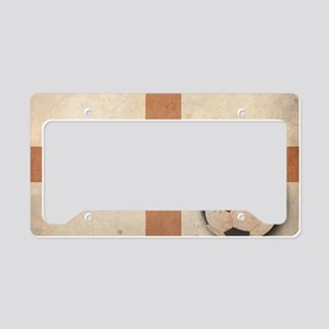 vintageEngland4 License Plate Holder