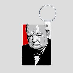 Winston Aluminum Photo Keychain