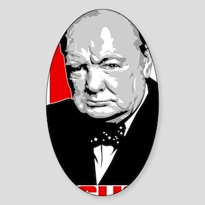 Winston Sticker (Oval)