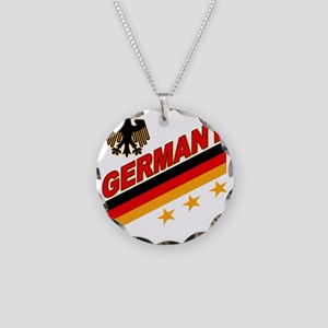 germany Necklace Circle Charm