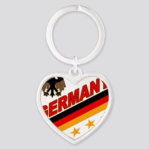 germany Heart Keychain