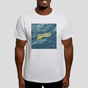 Sawyer_leaderOfThePack-darkButton Light T-Shirt