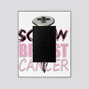 Screw Breast Cancer Picture Frame
