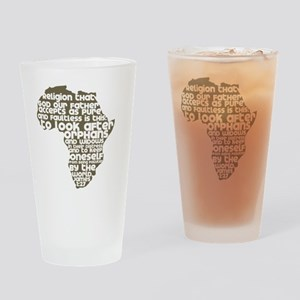 AfricaJames127 Drinking Glass