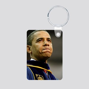 ART Grad Obama Aluminum Photo Keychain