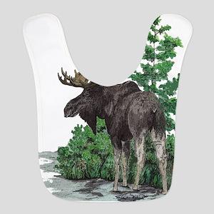 Bull Moose Art Bib