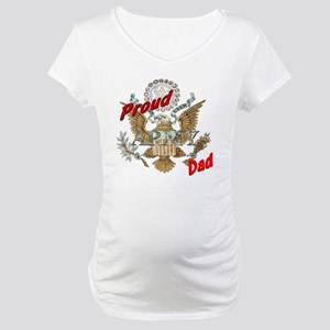 proudarmydad Maternity T-Shirt