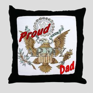 proudarmydad Throw Pillow