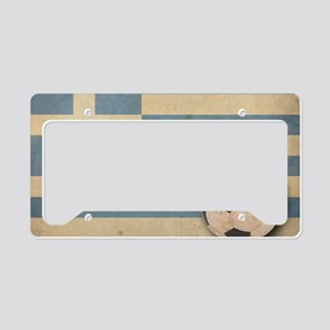 VintageGreece5 License Plate Holder
