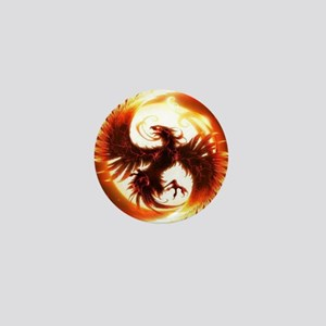 2-Phoenix spiral Mini Button