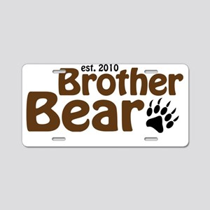 brother bear claw Aluminum License Plate