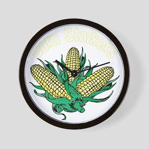 CornStalkerTeeWhite Wall Clock
