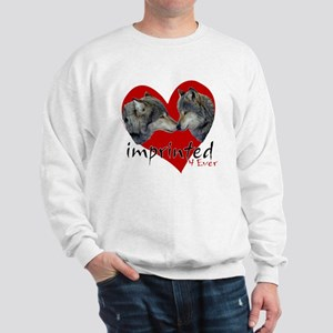 wolf-imprinted Sweatshirt