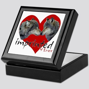wolf-imprinted Keepsake Box